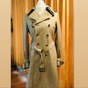 *Like New* Theory Double Breasted Trench Coat